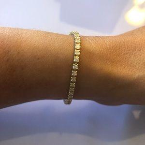 Jewelry - 2.75ct 14kt Yellow Gold Tennis Bracelet